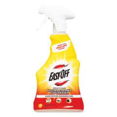 EASY-OFF® Kitchen Degreaser, Lemon Scent, 16 oz Spray Bottle, 6/Carton