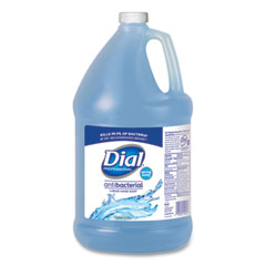 Dial® Professional Antibacterial Liquid Hand Soap, Spring Water, 1 gal, 4/Carton