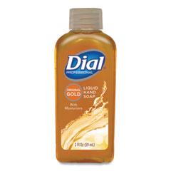 Dial® Professional Gold Antibacterial Liquid Hand Soap, Floral, 2 oz, 48/Carton