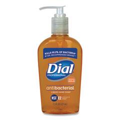 Dial® Professional Gold Antibacterial Liquid Hand Soap, Floral, 7.5 oz Pump, 12/Carton