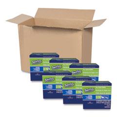 "Swiffer® Dry Refill Cloths, White, 10 5/8"" x 8"", 32/Box, 6 Boxes/Carton"