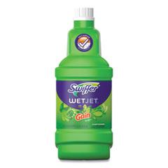 Swiffer® WetJet System Cleaning-Solution Refill, Original Scent, 1.25 L Bottle, 4/Carton