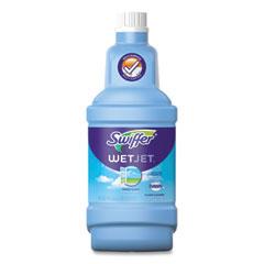 Swiffer® WetJet System Cleaning-Solution Refill, Fresh Scent, 1.25 L Bottle, 4/Carton