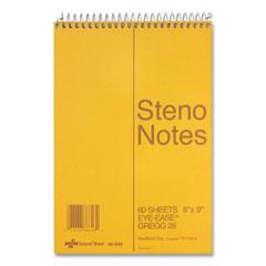 National® Standard Spiral Steno Book