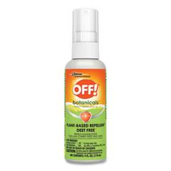 OFF!® Botanicals Insect Repellent, 4 oz Bottle, 8/Carton