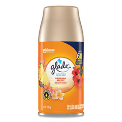 Glade® Automatic Air Freshener, Hawaiian Breeze, 6.2 oz, 6/Carton