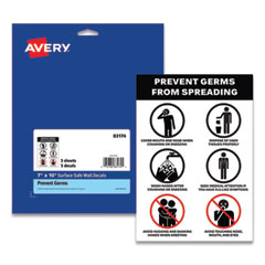Avery® Preprinted Surface Safe® Wall Decals