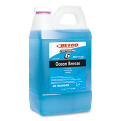 Betco® BestScent Ocean Breeze Deodorizer, Ocean Breeze Scent, 67.6 oz FastDraw Bottle, 4/Carton