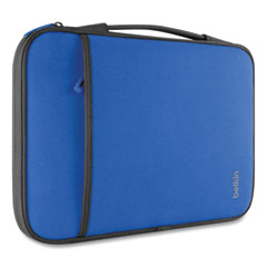 """Belkin® Neoprene Laptop Sleeve, For 11"""" Laptops, 12 x 8, Blue"""