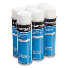 Coastwide Professional™ Foaming Glass Cleaner, Fresh and Clean, 19 oz Aerosol Spray, 6/Carton