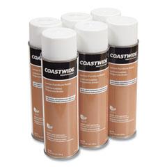 Coastwide Professional™ Furniture Polish, Lemon Scent, 19 oz Aerosol Spray, 6/Carton