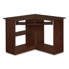 Easy 2 Go Corner Desk, 35.38 x 35.38 x 28.88, Resort Cherry