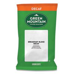 Green Mountain Coffee® Breakfast Blend Decaf Coffee Fraction Packs, 2 oz, 18/Box