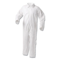 KleenGuard™ A35 Liquid and Particle Protection Coveralls, White, 2X-Large, 25/Carton