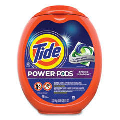 Tide® POWER PODS, Spring Meadow Scent, 48 Pods/Tub