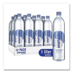 smartwater® Antioxidant Vaper-Distilled Water, 33.8 oz Bottle, 12/Carton
