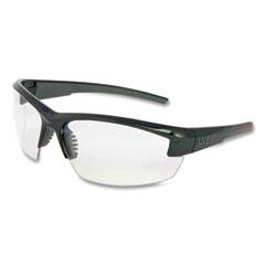 Honeywell Uvex™ Mercury Safety Glasses, Anti-Scratch, Clear Lens, Black/Gray Frame