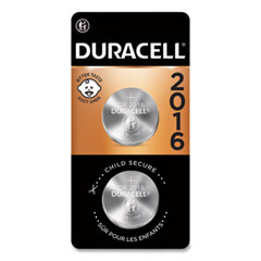 Duracell® Lithium Coin Batteries, 2016, 2/Pack