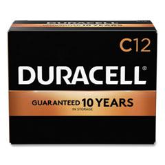 Duracell® CopperTop Alkaline C Batteries, 12/Box
