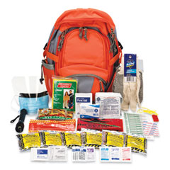 PhysiciansCare® by First Aid Only® Emergency Preparedness First Aid Backpack, XL, 63 Pieces, Nylon Fabric