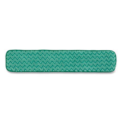 """Rubbermaid® Commercial Dry Hall Dusting Pad, Microfiber, 24"""" Long, Green"""