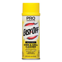 Professional EASY-OFF® Oven and Grill Cleaner, 24 oz Aerosol, 6/Carton