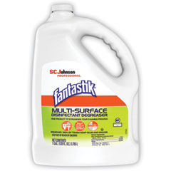Fantastik® Multi-Surface Disinfectant Degreaser, Pleasant Scent, 1 Gallon Bottle, 4/Carton