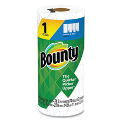 Bounty® Select-a-Size Kitchen Roll Paper Towels, 2-Ply, White, 5.9 x 11, 74 Sheets/Roll