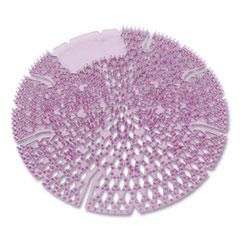 Big D Industries Diamond 3D Urinal Screen, Lavender Lace Scent, 0.13 oz, Lavender, 10/Box