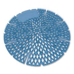Big D Industries Diamond 3D Urinal Screen, Mountain Air Scent, Blue, 10/Pack, 6 Packs/Carton