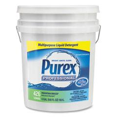 Purex® Liquid Laundry Detergent, Mountain Breeze, 5 gal. Pail