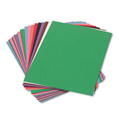 SunWorks® Construction Paper, 58 lbs., 9 x 12, Assorted, 50 Sheets/Pack