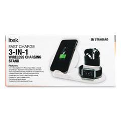 Itek™ 3-in-1 Qi Wireless Charging Stand
