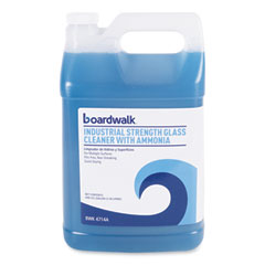 Boardwalk® Industrial Strength Glass Cleaner with Ammonia, 1 gal Bottle, 4/Carton