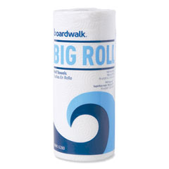 """Boardwalk® Kitchen Roll Towel Office Pack, 2-Ply, White, 5.5""""x11"""",140/Roll,12/Ct"""