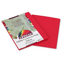 Pacon® Peacock® Sulphite Construction Paper
