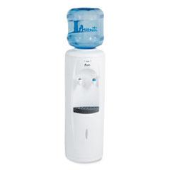 Avanti Cold and Room Temperature Water Dispenser, 3-5 gal, 11.5 x 12. 5 x 34, White