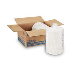 "White Paper Plates, 6"" dia, 500/Packs, 2 Packs/Carton"