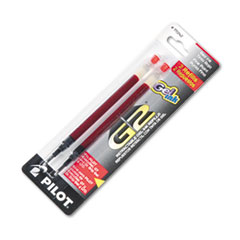 Pilot® Refill for Pilot Gel Pens, Fine Point, Red Ink, 2/Pack