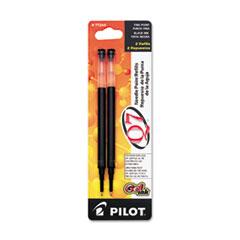 Pilot® Refill for Retractable Gel Roller Ball Pen, Fine, Black Ink