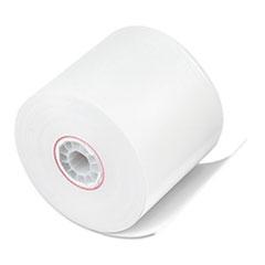 "Iconex™ Impact Bond Paper Rolls, 2.25"" x 150 ft, White, 100/Carton"