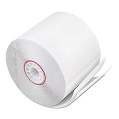 "Iconex™ Impact Printing Carbonless Paper Rolls, 2.25"" x 90 ft, White/White, 50/Carton"