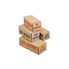 Iconex™ Corrugated Coin Storage and Shipping Boxes