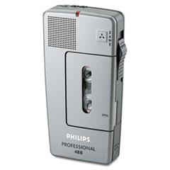 Philips® Pocket Memo 488 Slide Switch Mini Cassette Dictation Recorder Thumbnail