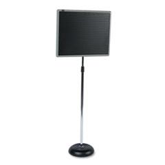 Quartet® Adjustable Single-Pedestal Magnetic Letter Board Thumbnail