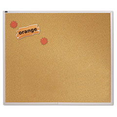 Quartet® Natural Cork Bulletin Board Thumbnail