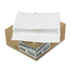 Survivor® Open Side Expansion Mailers, DuPont Tyvek, #13 1/2, Cheese Blade Flap, Self-Adhesive Closure, 10 x 13, White, 100/Carton