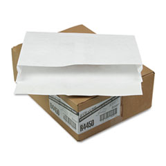 Survivor® Open Side Expansion Mailers, DuPont Tyvek, #15, Cheese Blade Flap, Self-Adhesive Closure, 10 x 15, White, 100/Carton