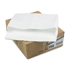 Survivor® Open Side Expansion Mailers, DuPont Tyvek, #15 1/2, Commercial Flap, Self-Adhesive Closure, 12 x 16, White, 100/Carton