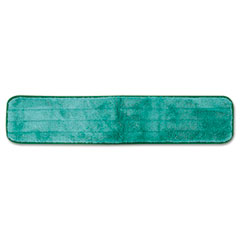 "Rubbermaid® Commercial Dry Hall Dusting Pad, Microfiber, 24"" Long, Green"